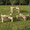 Outdoor Wooden Frame for Active World Tuff Trays  small