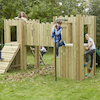 Outdoor Wooden Castle  small