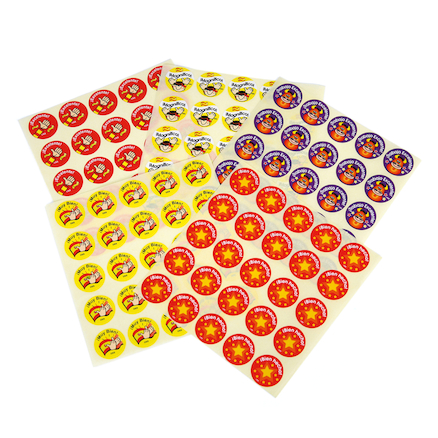 Spanish Assorted Rewards Stickers 125pk  large