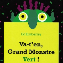 Va-t'en, Grand Monstre Vert! French Storybook  medium