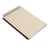 220gsm Jumbo Spiral Black Card Sketchbook A4  small