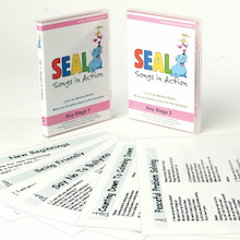 SEAL Songs In Action Music Cards and CD  medium