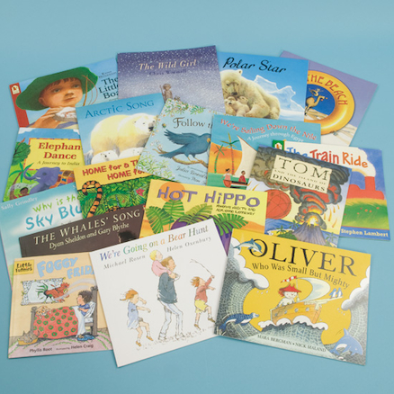 KS1 Geography Through Story Books 18pk  large