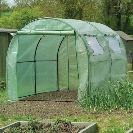 Poly Tunnel With Reinforced Cover  large