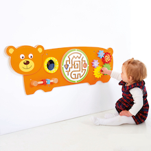 Bear Manipulative Wall Panel  medium