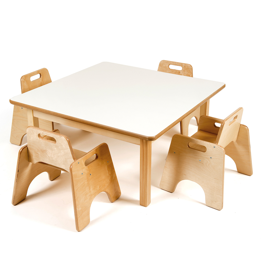 Buy toddler low square table h380mm tts for Toddler table
