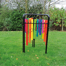 Triple Boomwhacker Music Frame  medium