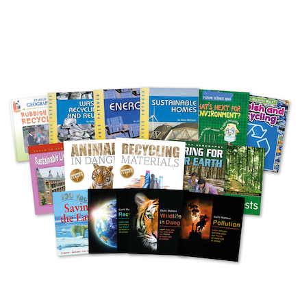 KS1 and KS2 Environmental Issues Books 17pk  large
