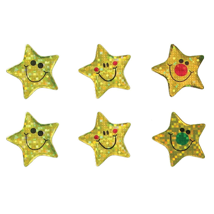 Sparkly Gold Star Stickers 360pk  large