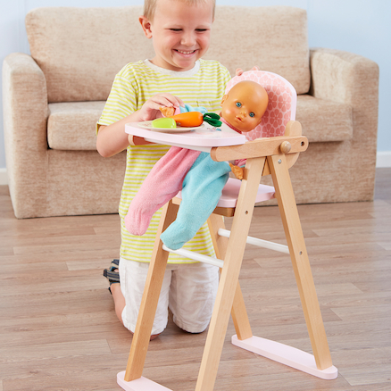 Role Play Doll\'s High Chair  large