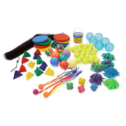Throw and Catch Playground Equipment Kit  large