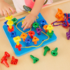 Fine Motor Stacking and Lacing Peg and Board  small
