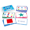 French Vocabulary Builders \- Shapes  small