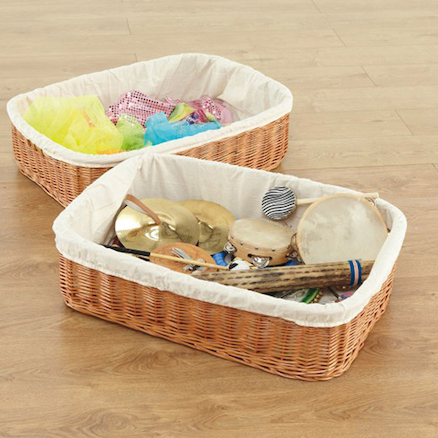 Large Willow Baskets 2pk  large