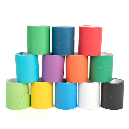 Assorted Fadeless Card Border Display Rolls 36pk  large