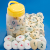Number Pebbles Engraved Number Stones 0\-10 22pcs  small