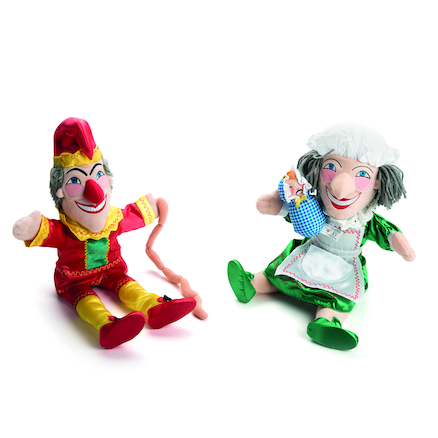 Punch and Judy Puppets  large