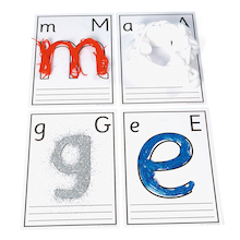 Messy Letters  medium