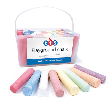 TTS Playground Chalk 52pk  large