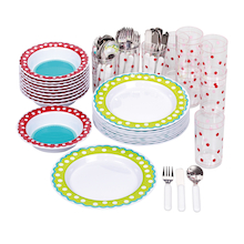 Dotty Melamine Tableware Collection  medium