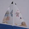 Two Piece Sailing Mirror  small