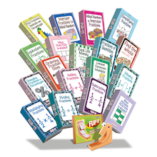Flip-It Complete Fractions Cards Set  medium