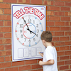 TTS Weatherproof Outdoor Teaching Clock A1  small
