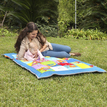 Baby Soft Playmat 100 x 150cm  large