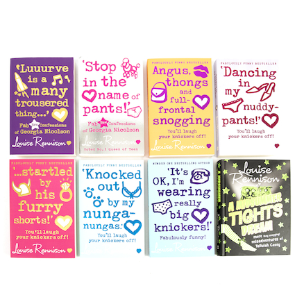 KS3 Comical Louise Rennison Book Pack 8pk  large