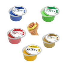 Therapy Putty 5pk  medium