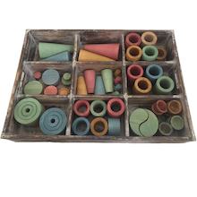 Earth Loose Parts Set  medium