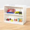 Basic White Two Shelves Bookcase  small