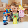 Role Play Palace People Puppet Set 4pcs  small