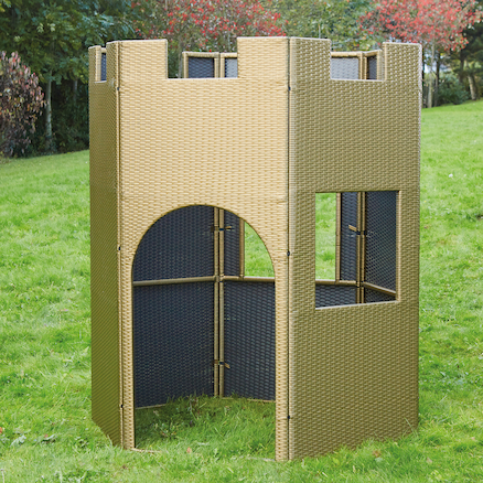 Outdoor Plastic Rattan Castle  large