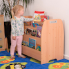 Double Sided Mobile Book Storage Unit  small
