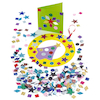 Glitter Mixed Paper Shapes Assorted 2000pk  small