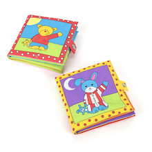 Soft Baby Books 2pk  medium