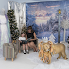 Immersive Environments Backdrops Frozen  small