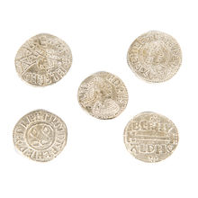Anglo-Saxon Coins 5pk  medium