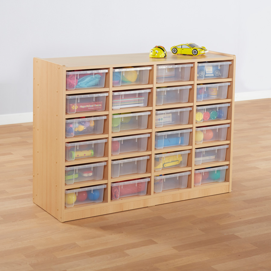 Buy Open Storage Unit With 24 Small Compartments