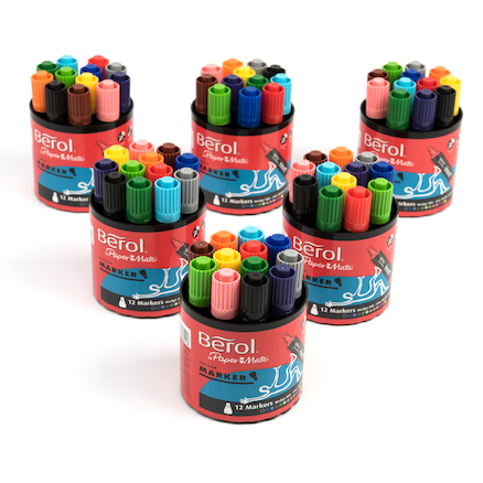 Assorted Berol® Colour Marker Pen  large