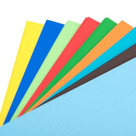 Poster Paper Assorted 100pk  large