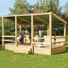 Outdoor Staging Sandpit Shelter  medium