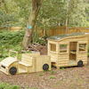 Outdoor Wooden Truck and Caravan Special Offer  small