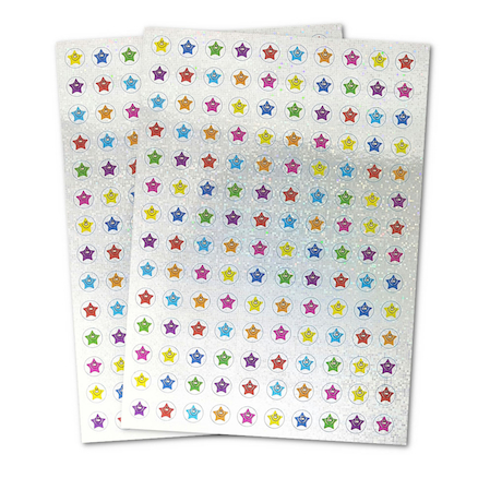 Mini Sparkly Star Stickers 280pk  large