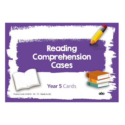 Reading Comprehension Cards Year 5  large