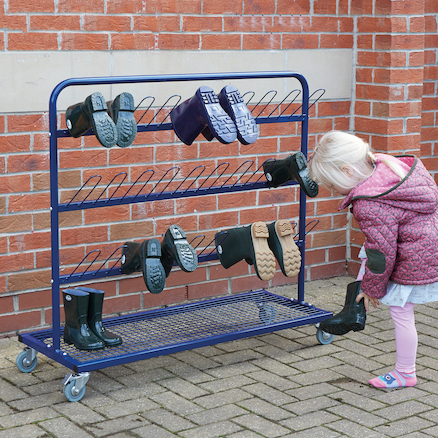 Metal Wellie Racks  large