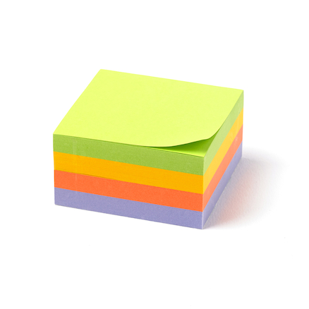 TTS Neon Sticky Notepads  large