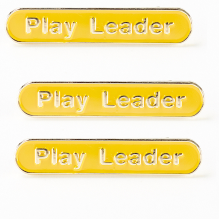 Play Leader Enamel Badges 15pk  large