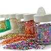 Assorted Glitter Shapes Class Set 6pk  small